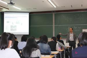 Tripathi Saroj Raman 先生の講義1